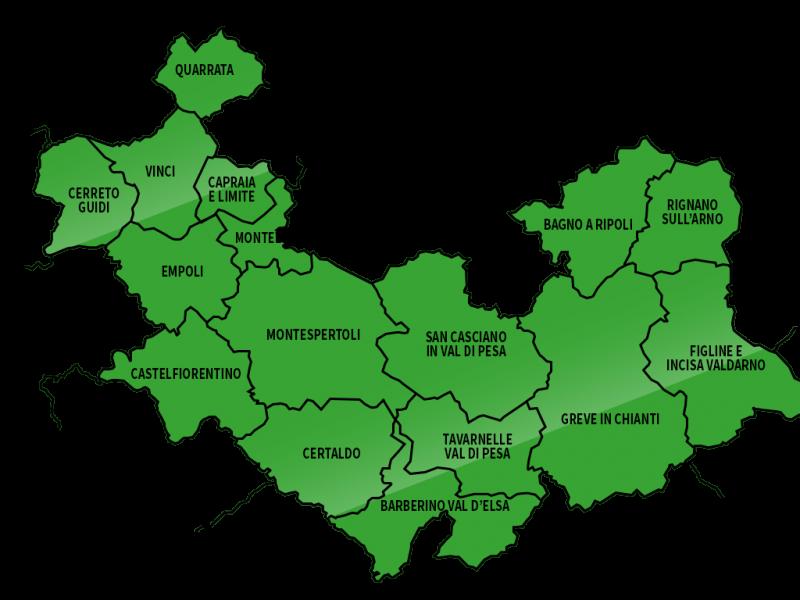 MappaComuni