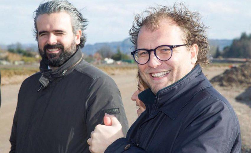 12/01/18 - Luca Lotti svincolo Empoli centro della Fi-Pi-Li e la zona artigianale di Carraia