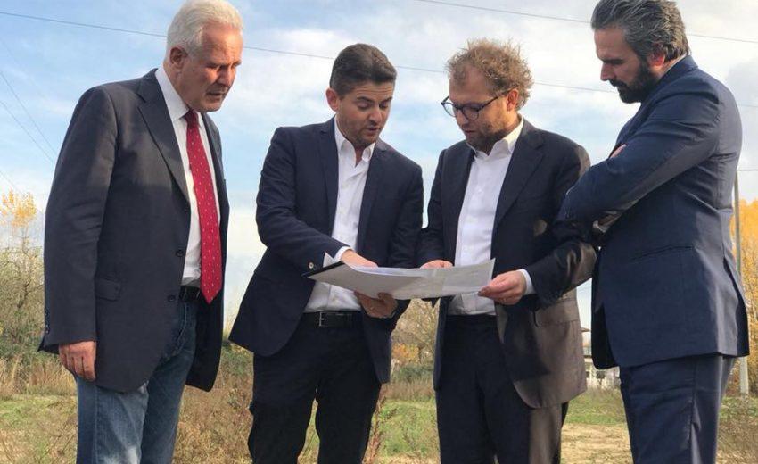24/11/17 - Luca Lotti sopralluogo a Terranuova Bracciolini