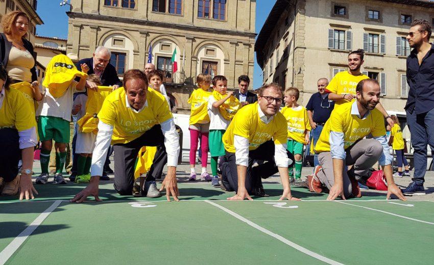 30/09/17 - Luca Lotti Settimana Eu Sport Firenze