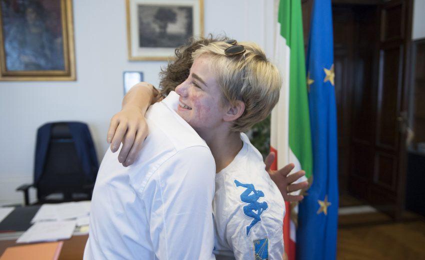 04/07/2017 - Luca Lotti Bebe Vio