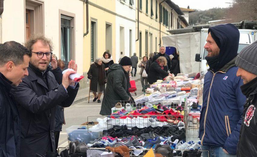 Luca Lotti - al mercato Antella