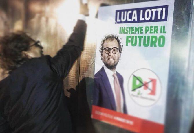 Luca Lotti - affissione